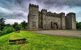 Замок Слейн, Ирландия — обзор