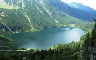 Озеро Морское Око, Польша — обзор
