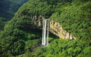 Водопад Каракол, Бразилия — обзор