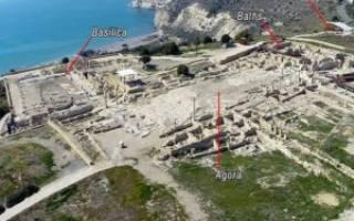Амфитеатр Куриона, Кипр — обзор