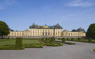 Королевская резиденция Дротнингхольм, Швеция — обзор