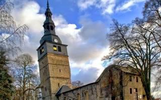 Церковь Оберкирхе, Германия — обзор