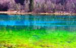 Озеро пяти цветов, Китай — обзор