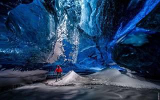 Ледяная пещера Скафтафелл, Великобритания — обзор