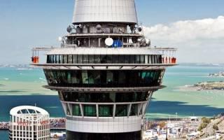 Смотровая площадка Sky Tower, Новая Зеландия — обзор