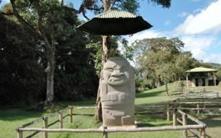 Археологический парк Сан-Агустин, Колумбия — обзор
