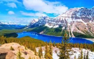 Озеро Пейто, Канада — обзор