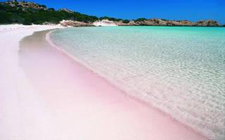 Пляж Пинк Сэндс, Багамские о-ва — обзор