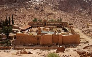 Монастырь Святой Екатерины, Египет — обзор
