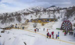 Табаган — обзор и отзывы лыжного курорта
