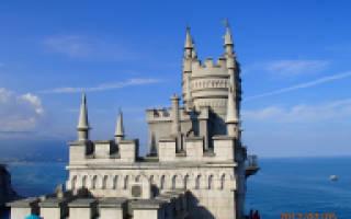Замок Ласточкино Гнездо, Россия — обзор
