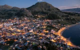 Копакабана — что посмотреть по городам Боливии