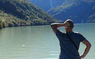 Водопад Hanging Glacier, Чили — обзор