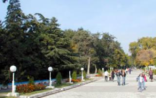 Сандански — что посмотреть по городам Болгарии