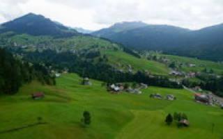 Оберстдорф — обзор и отзывы лыжного курорта