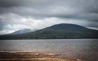 Озеро Зюраткуль, Россия — обзор