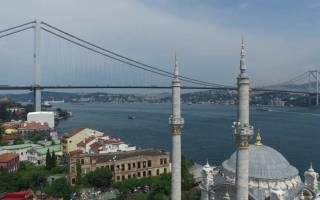Босфорский мост, Турция — обзор