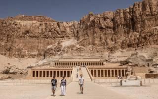 Храм царицы Хатшепсуп, Египет — обзор