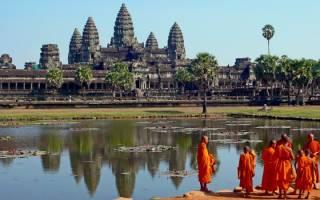 Лестница Ангкор Ват, Камбоджа — обзор