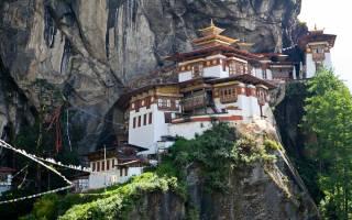 Монастырь Гнездо Тигра, Бутан — обзор