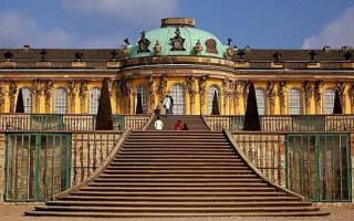 Дворец Сан-Суси, Германия — обзор