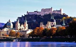 Исторический центр Зальцбурга, Австрия — обзор