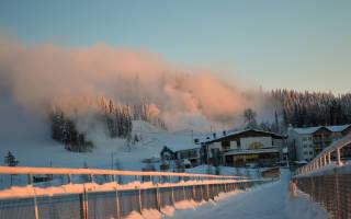 Уккохалла — обзор и отзывы лыжного курорта Финляндии