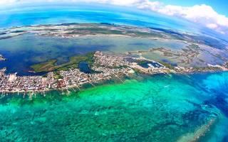 Остров Амбергрис, Белиз — обзор