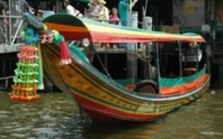Каналы Клонг, Таиланд — обзор