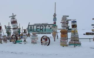 Поселок Алерт, Канада — обзор