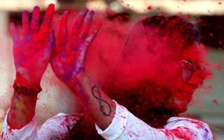 Фестиваль Холи, Индия — обзор