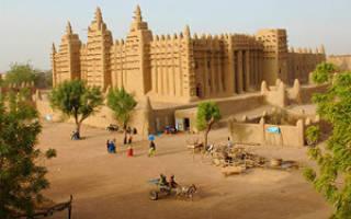 Город Тимбукту, Мали — обзор