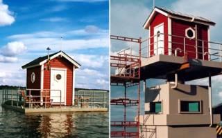 Подводный отель Utter Inn, Швеция — обзор
