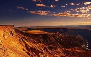 Каньон Рыбной реки, Намибия — обзор