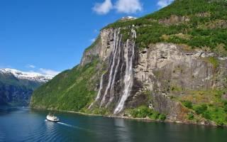 Водопад Семь Сестер, Норвегия — обзор