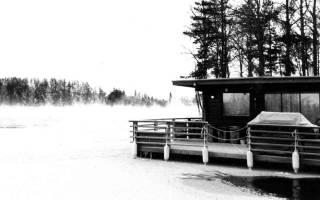 Сауна на воде Saunalautta, Финляндия — обзор