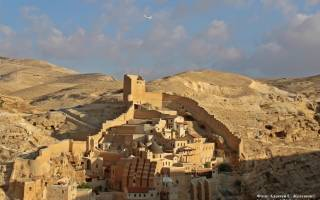 Монастырь Мар Саба, Израиль — обзор