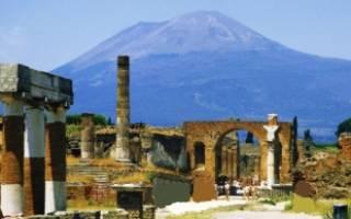 Вулкан Везувий, Италия — обзор