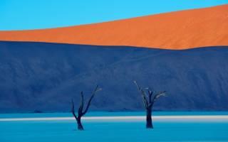 Мертвая долина, Намибия — обзор