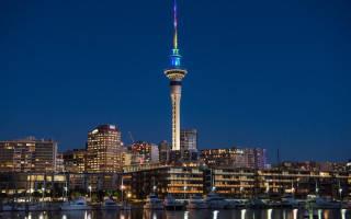 Лифт небоскреба Sky Tower, Новая Зеландия — обзор