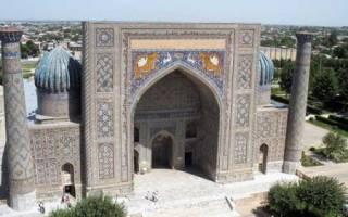 Медресе Шир-Дор, Узбекистан — обзор