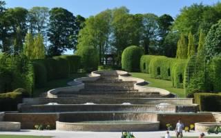 Дом в саду Алнвик, Великобритания — обзор