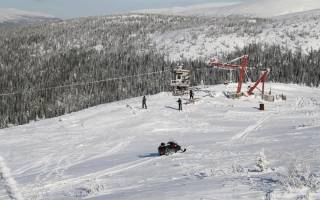 Обзор и отзывы лыжного курорта Сполохи (Гора Крестовая)