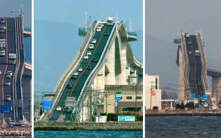 Мост Кикки, Япония — обзор