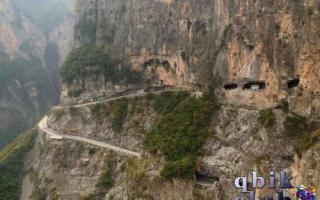 Горный туннель Гуолян, Китай — обзор