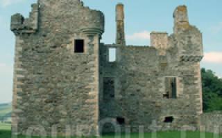 Замок Гленбухат, Шотландия — обзор