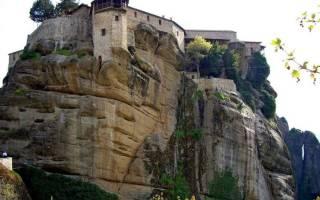 Монастыри Метеоры, Греция — обзор