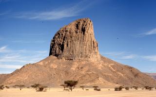 Горы Ахаггар, Алжир — обзор