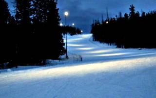 Обзор и отзывы лыжного курорта Гора Белая