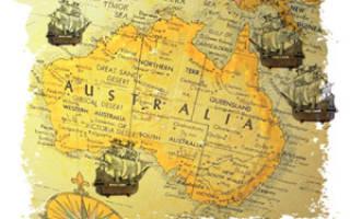 Каторжные поселения Австралии, Австралия — обзор